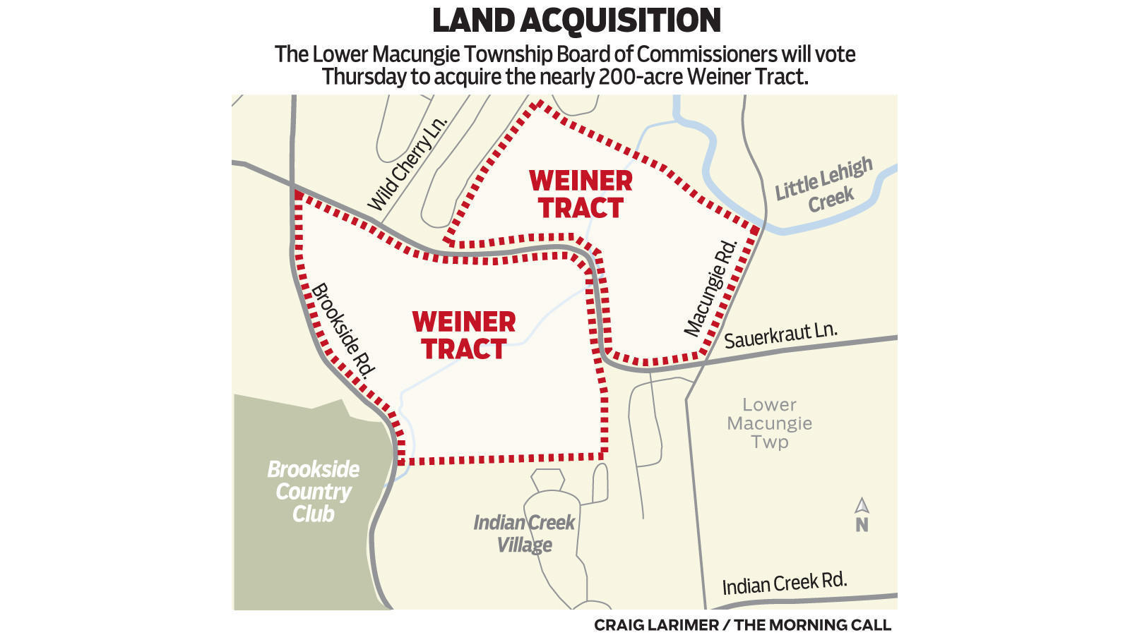 in biggest land preservation move yet lower macungie will vote to