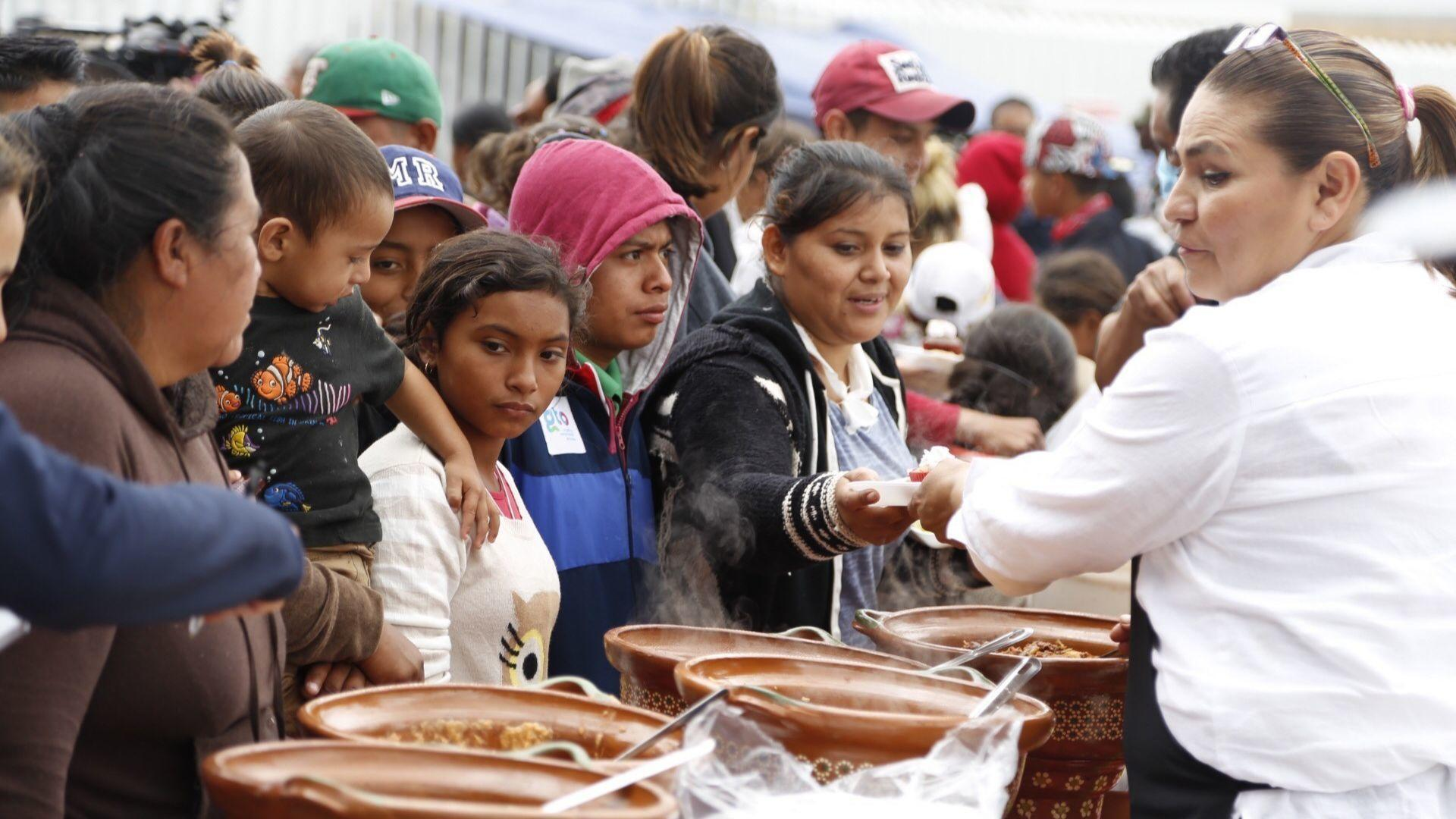 First Central American caravan members admitted at San Ysidro Port of Entry