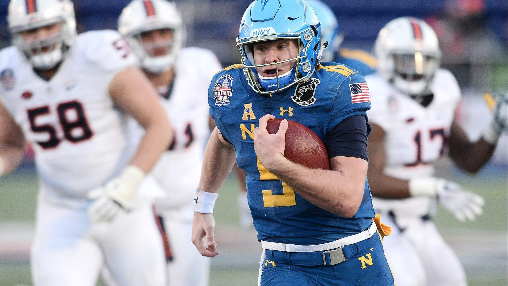 navy moves former starting quarterback zach abey to wide receiver