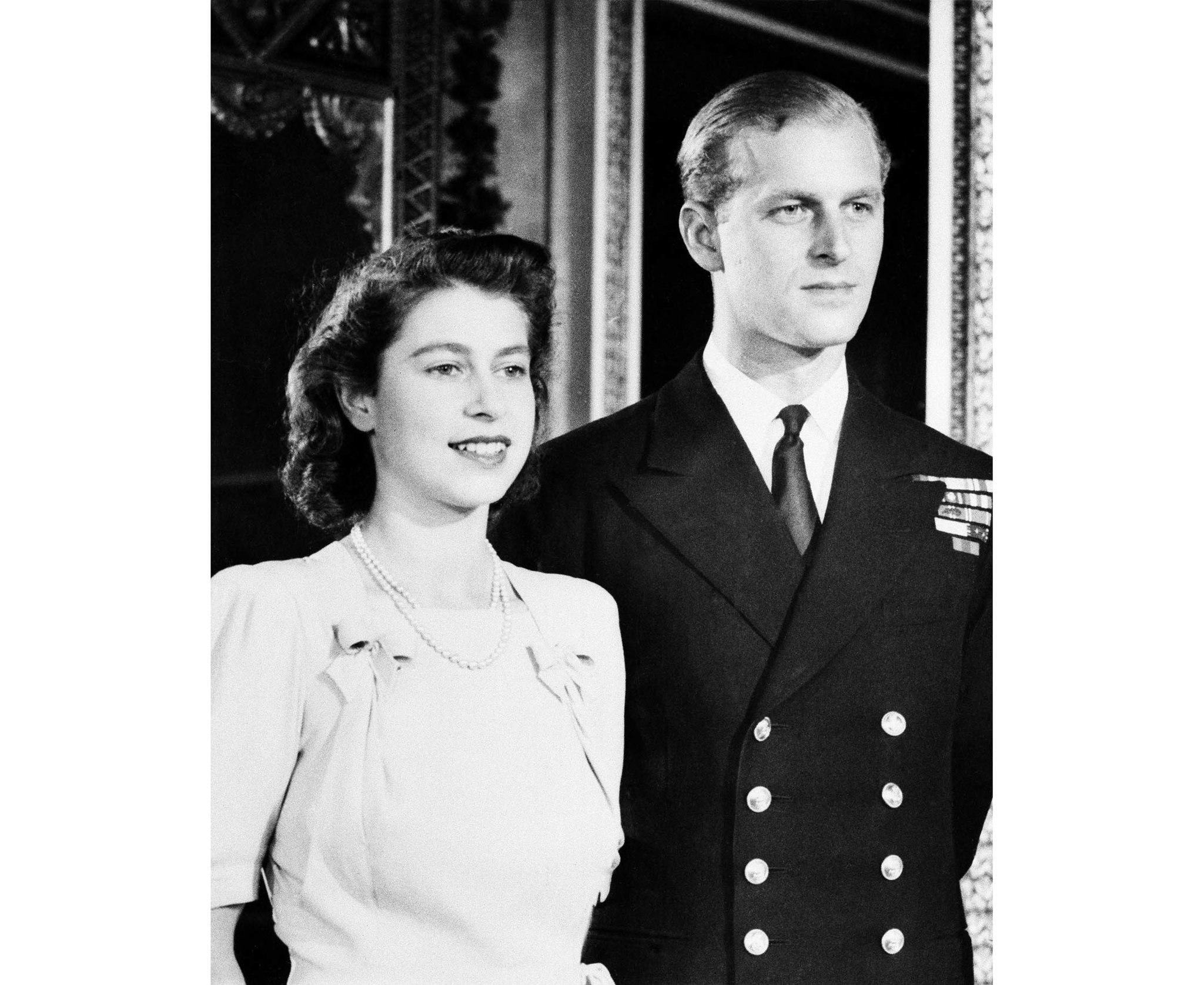 Princess Elizabeth, Philip Mountbatten