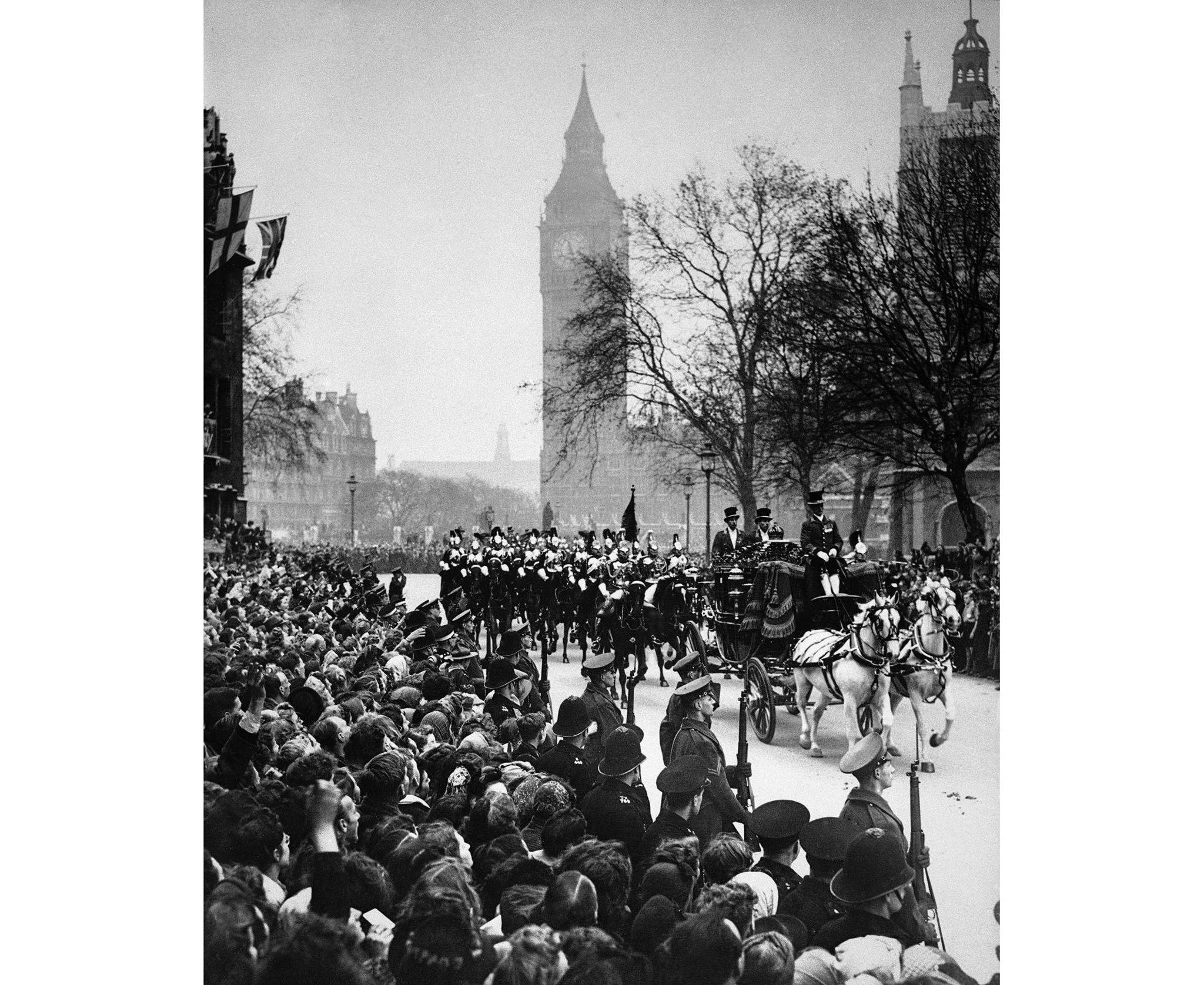 Bridal procession