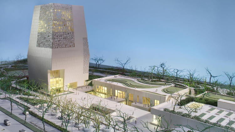 Design of Obama center unveiled