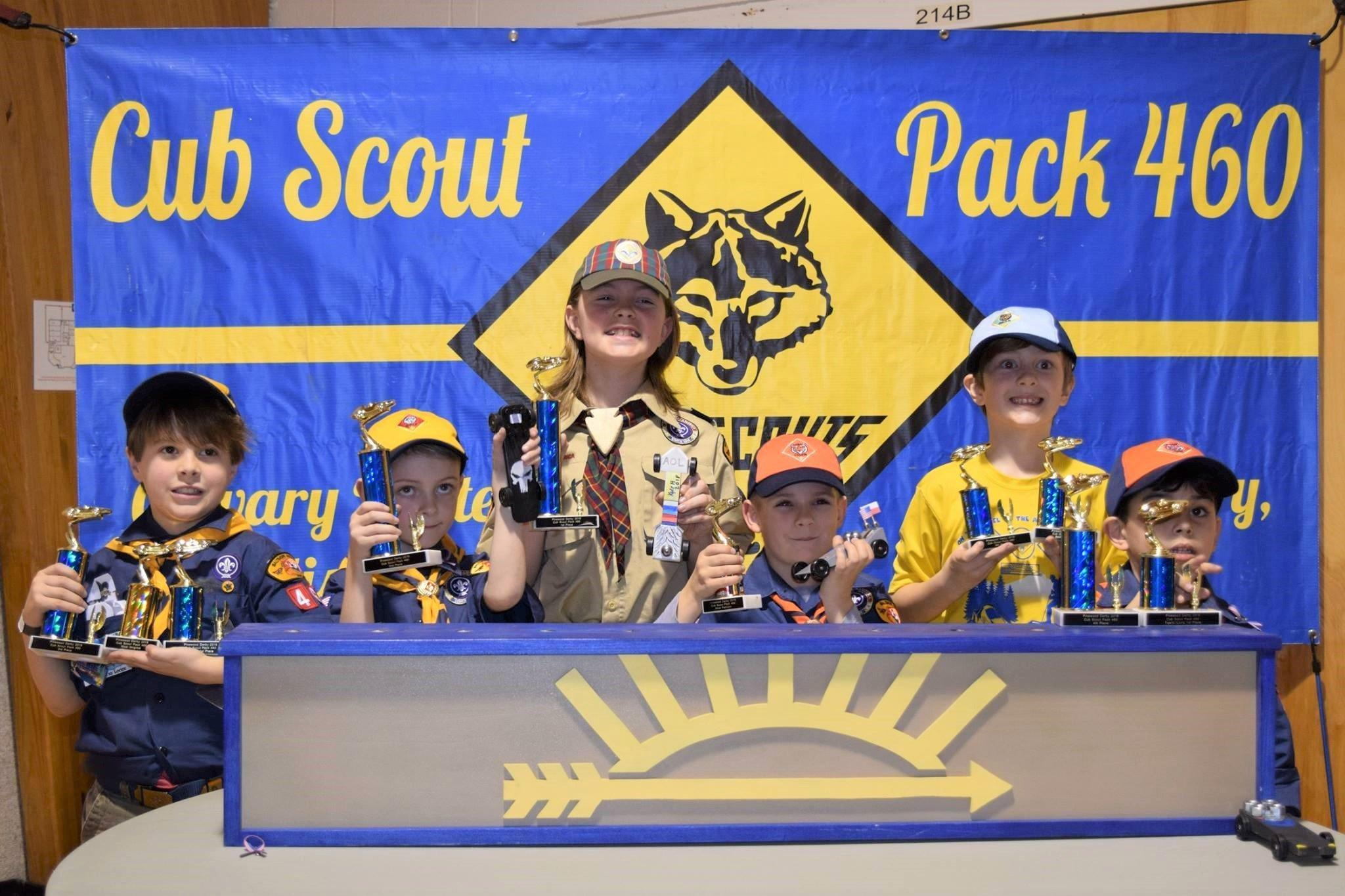 Pack 460 Pinewood Derby Results Carroll County Times Finish Line Lamps