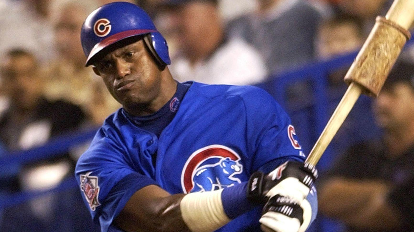 dont be fooled by the sammy sosa on your tv screen