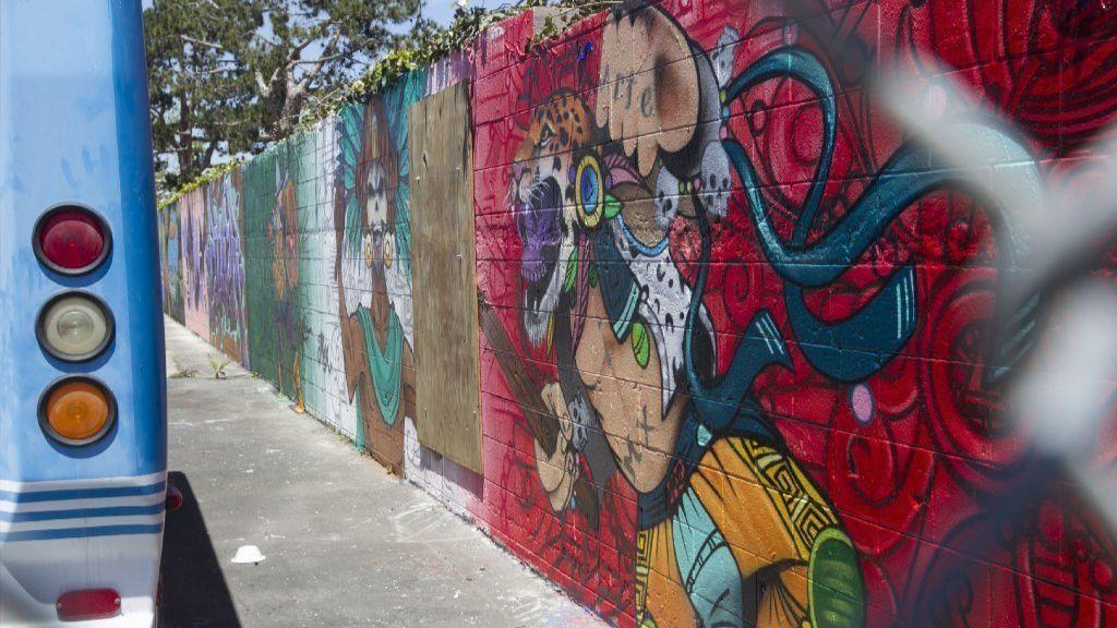 Chula Vista school mural depicts severed, speared Trump head