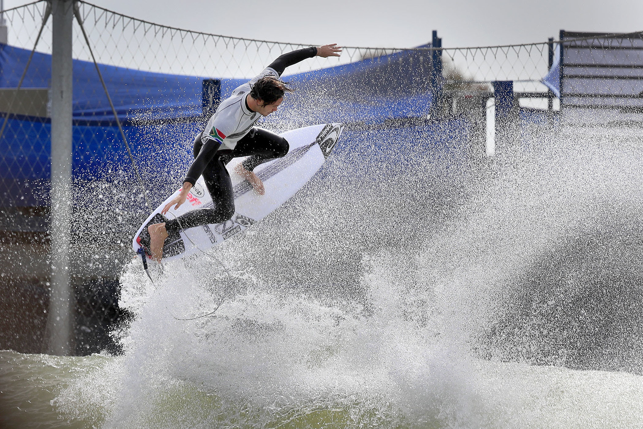 LEMOORE, CALIF. -- SATURDAY, MAY 5, 2018: Jordy Smith, of South Africa and currently of San Clemente