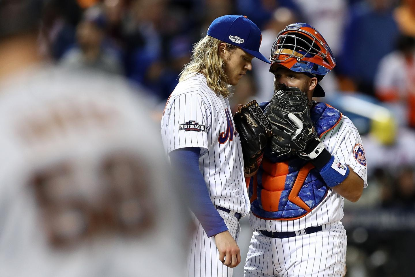 Rene Rivera will catch Noah Syndergaard a little too late