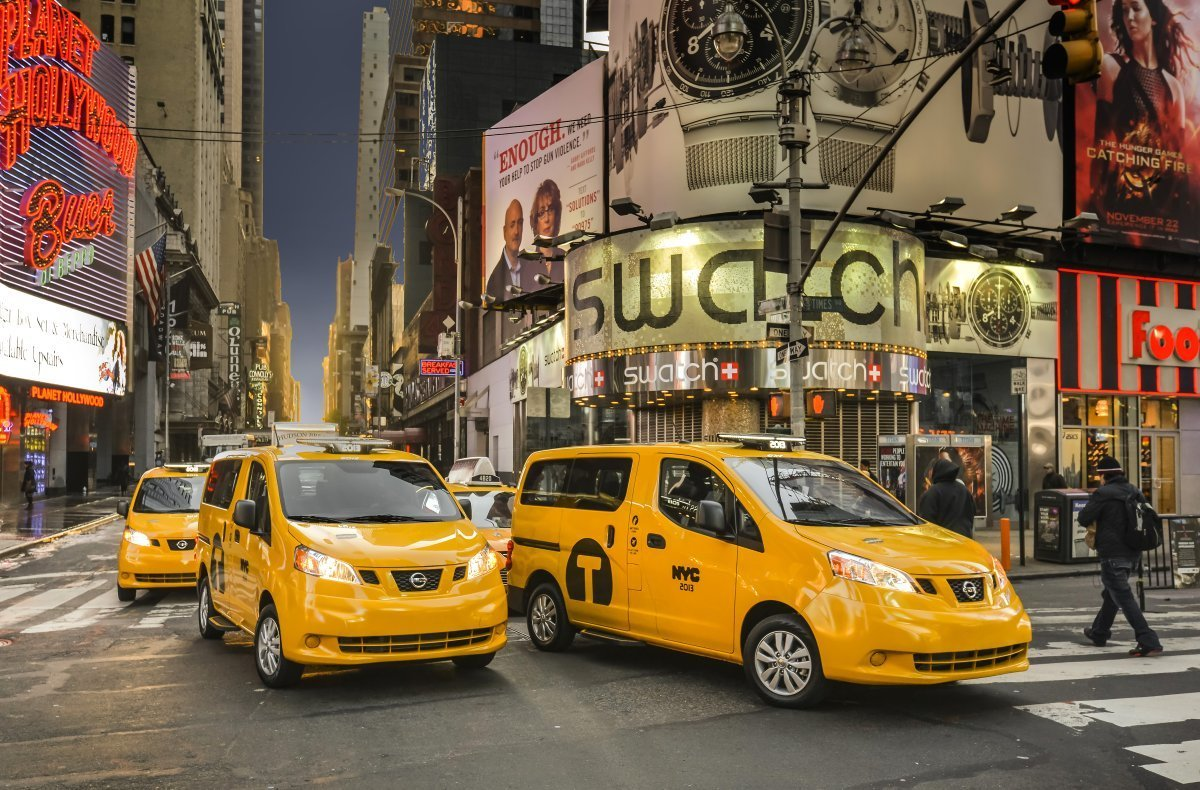 Yellow fever: Deploy yellow cabs and their plastic shields to protect drivers during the coronavirus emergency