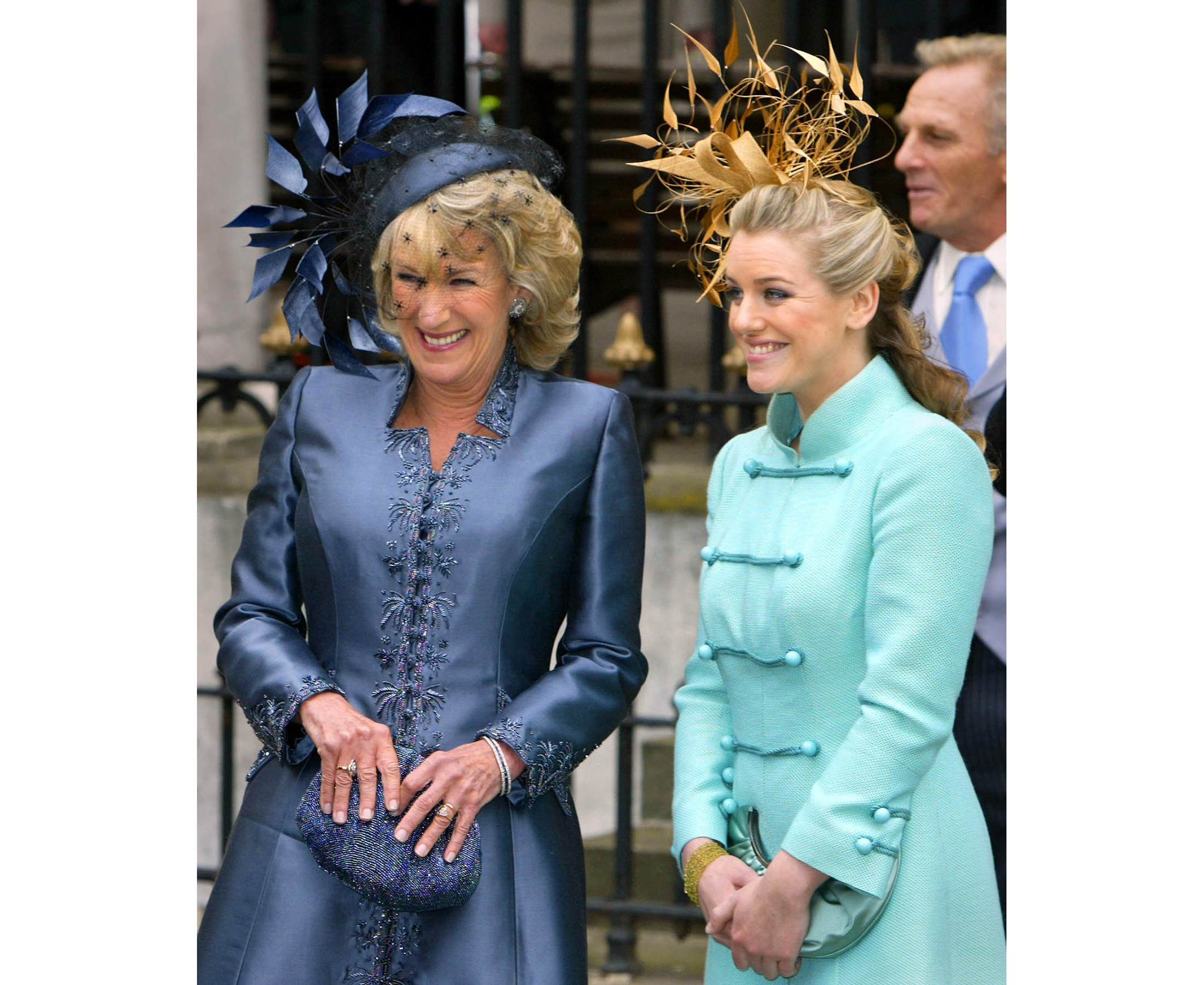 Annabel Elliot and Laura Parker Bowles