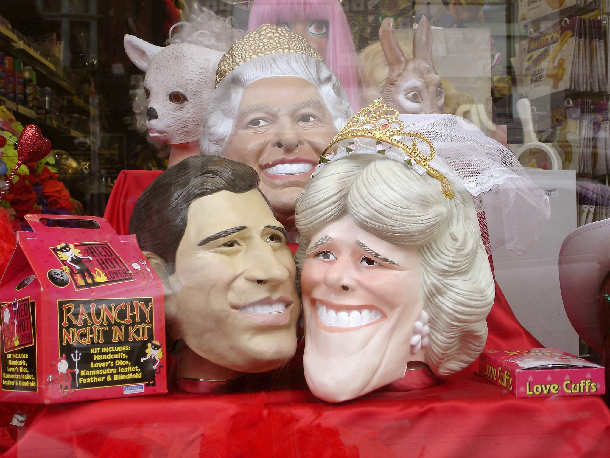 Charles and Camilla masks