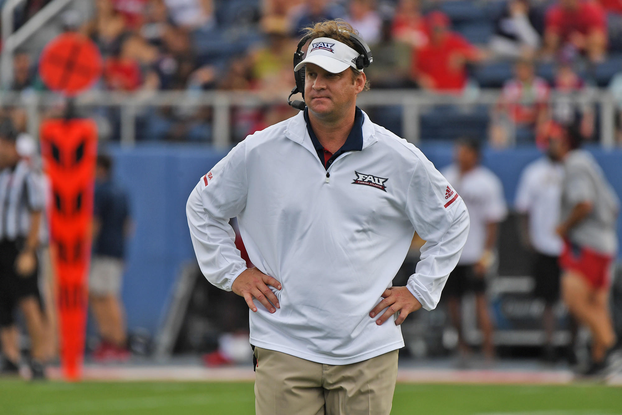 coach lane kiffin reaffirms his commitment to fau in espn interview