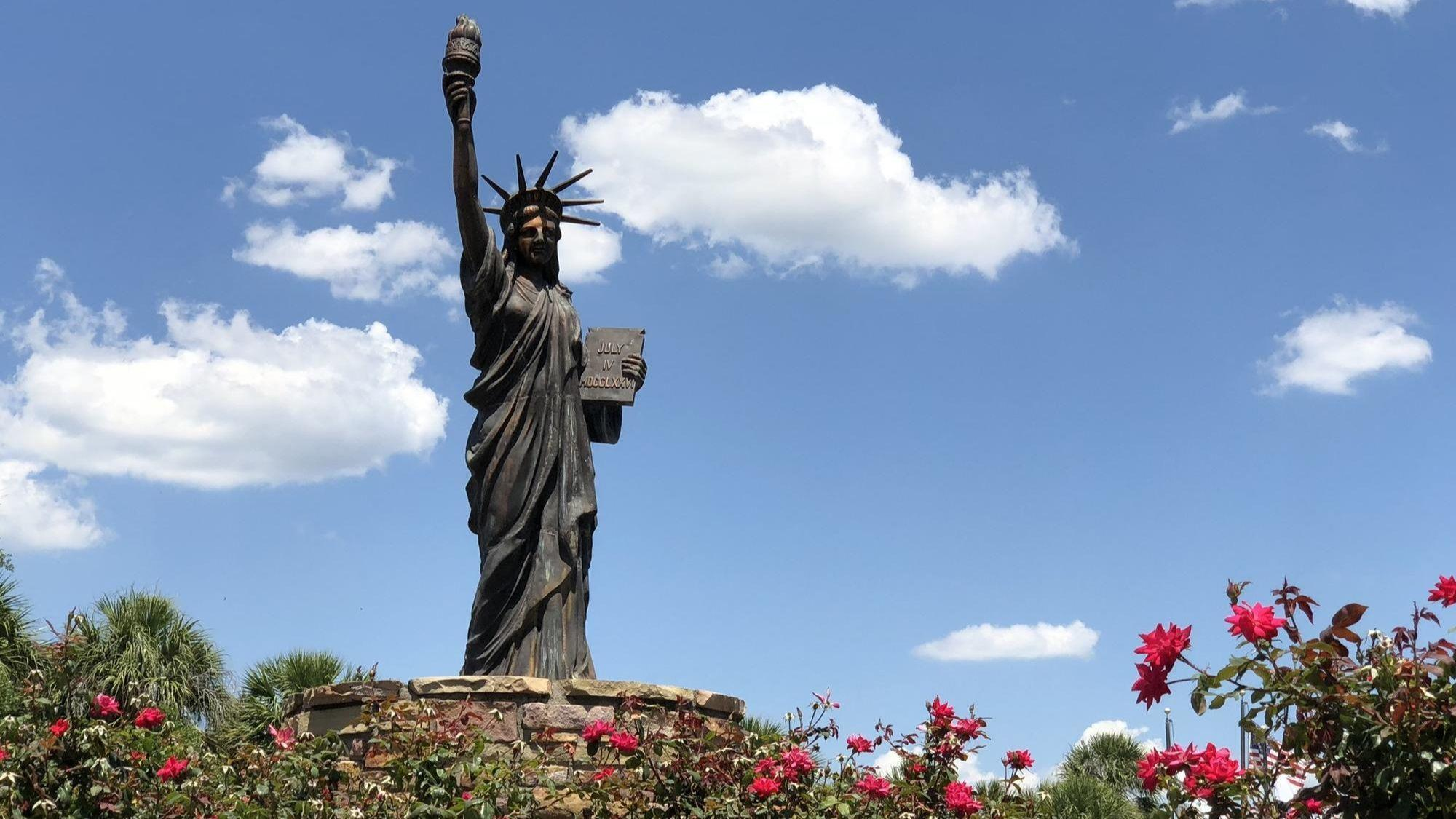 ask orlando why does orlando have a statue of liberty orlando
