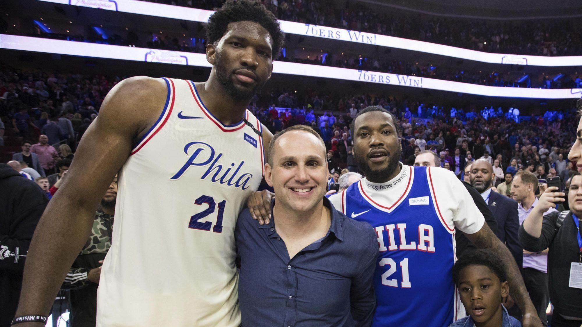 76ers billionaire owner talks friendship with Meek Mill   I think I m so  lucky to have him  - Chicago Tribune f26427964