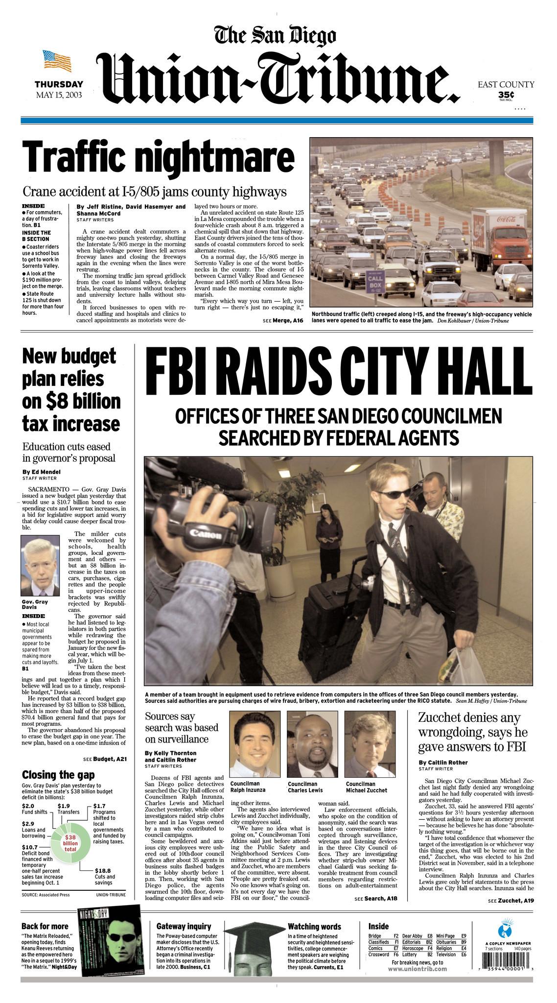 May 15, 2003