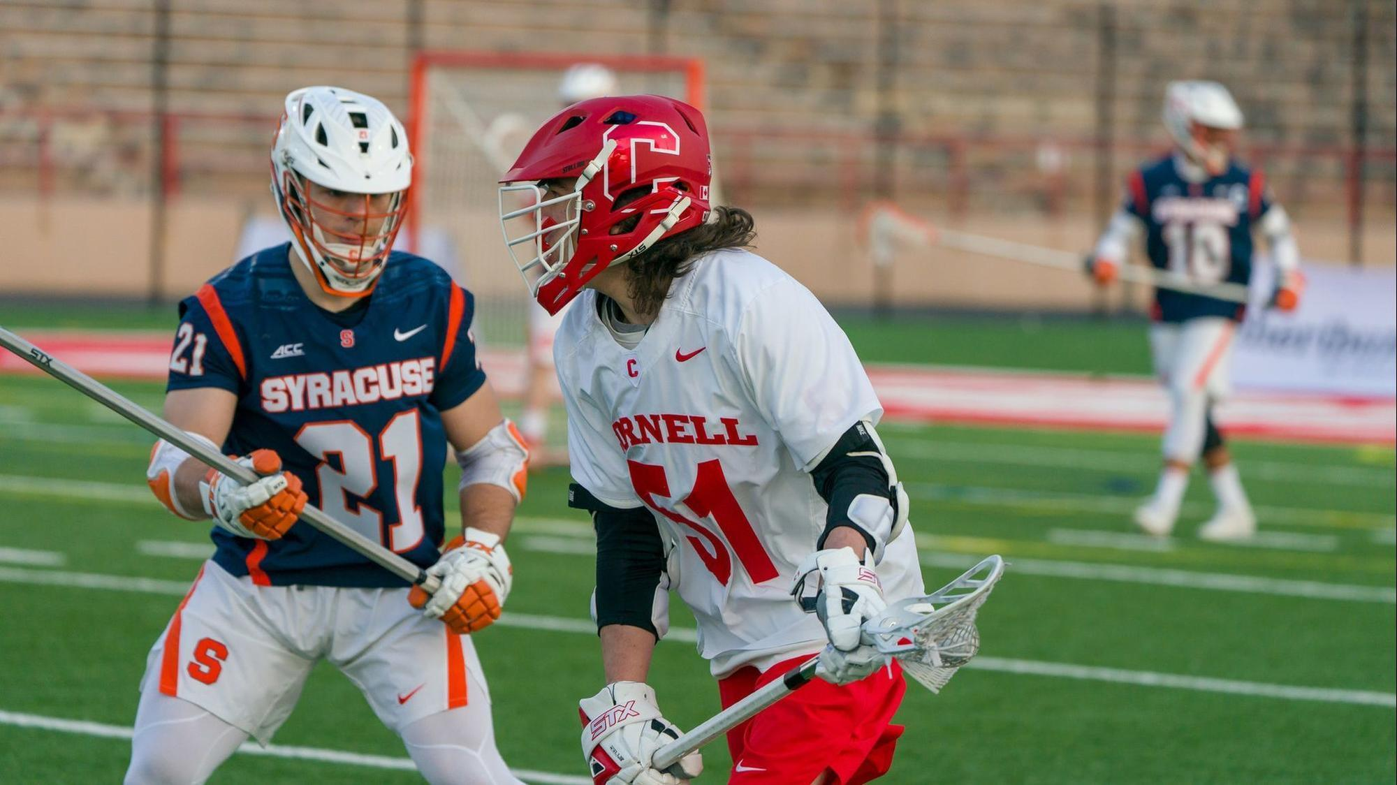 men's lacrosse game of the week: cornell at syracuse - baltimore sun