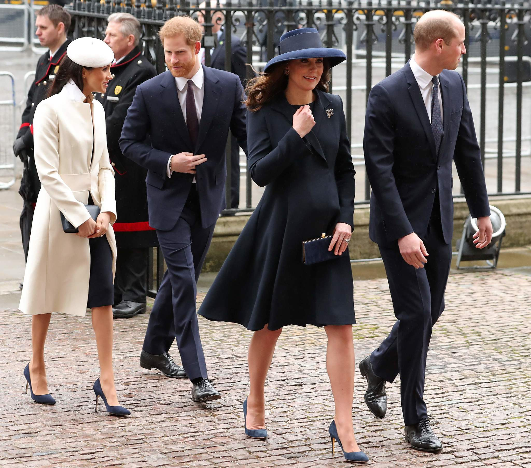"Commonwealth Day service ""title ="" Commonwealth Day service ""/>    <figcaption> Catherine, Duke of Cambridge and her husband <topic id="