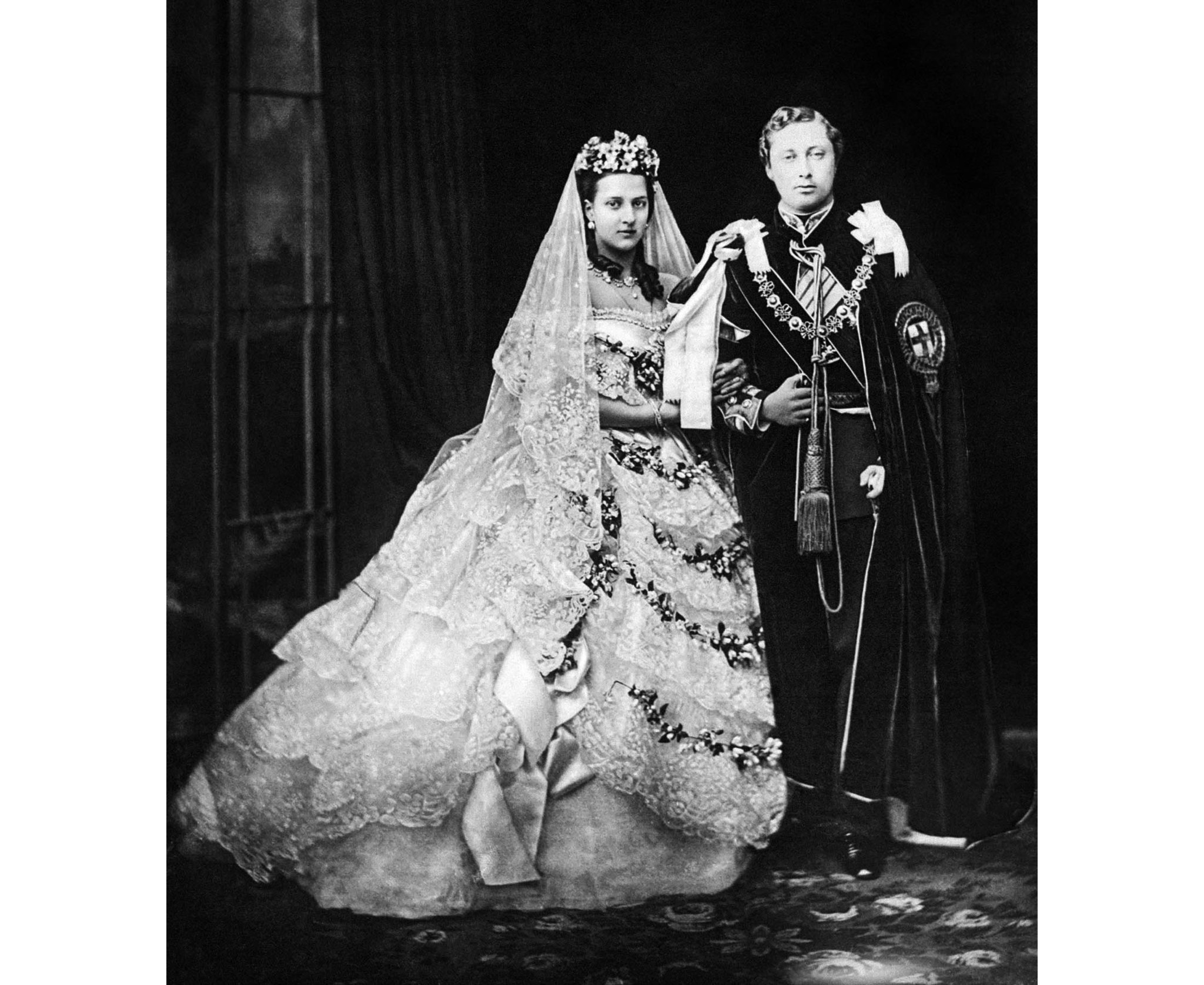 WEDDING OF PRINCE OF WALES AND PRINCESS ALEXANDRA : 1863
