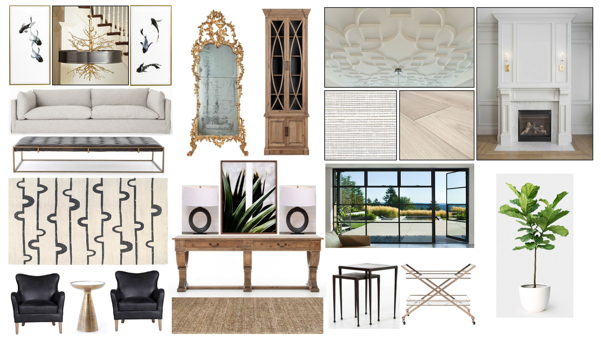 Living room by Jason Lai, principal at L2 Interiors.