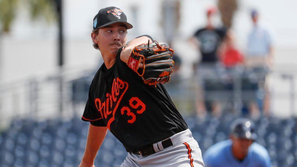64d90970e Orioles prospect Hunter Harvey s four-inning stint in Bowie shows promise