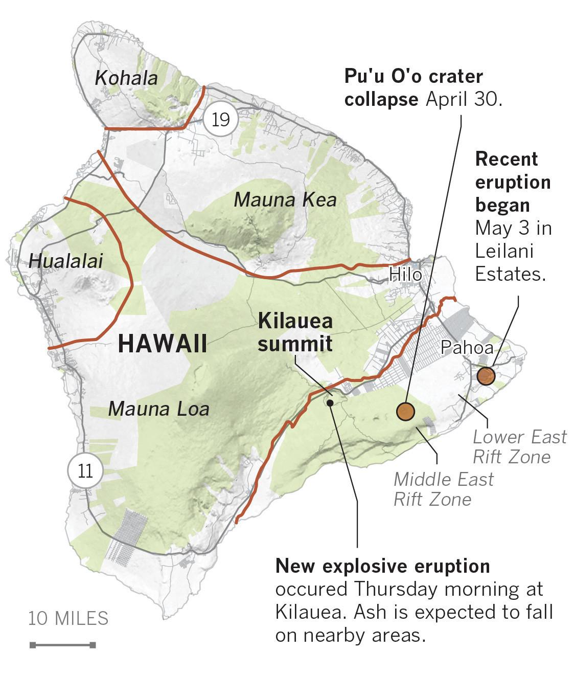 Kohala Hawaii Map.The Science Behind The Volcanic Activity On Hawaii S Big Island