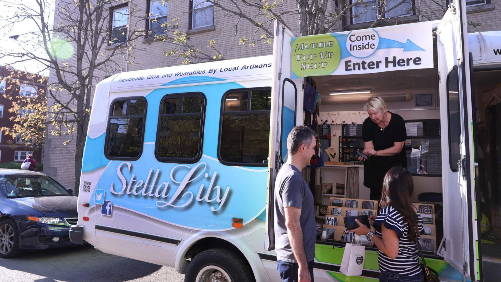 Boutiques Follow Food Trucks In Taking S On The Road