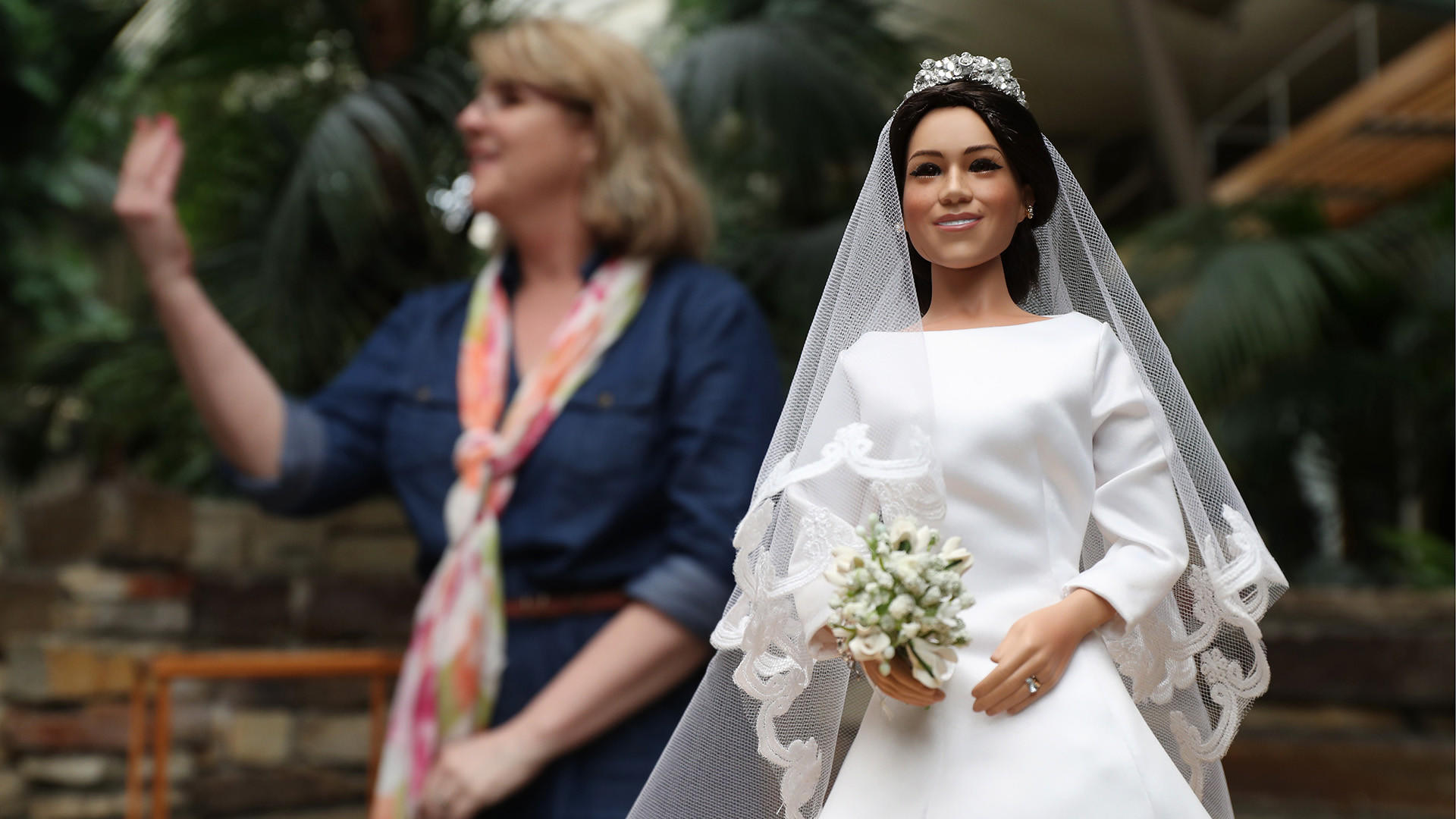 Niles Doll Company Replicates Meghan Markle And Prince