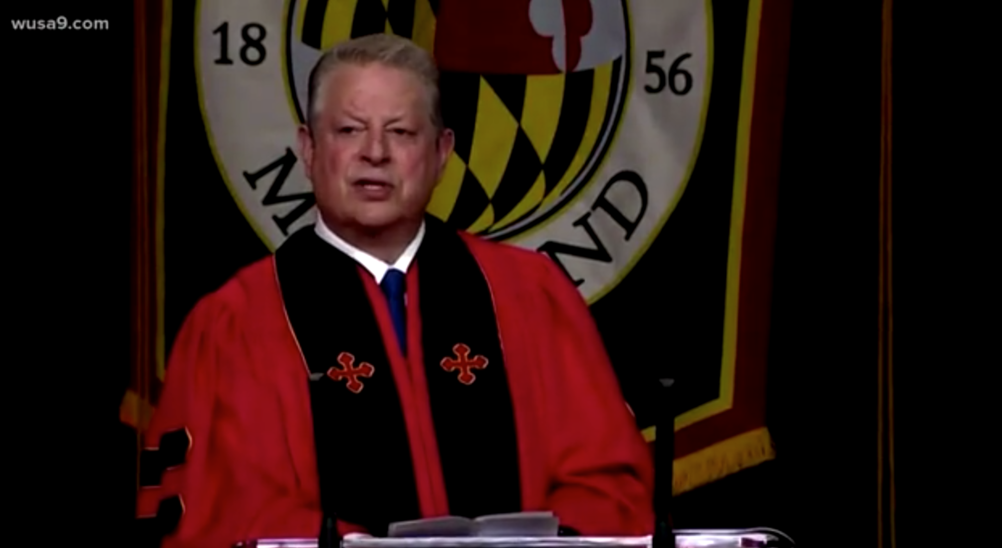 At UM commencement, Al Gore urges graduates 'to reclaim the integrity of American democracy'