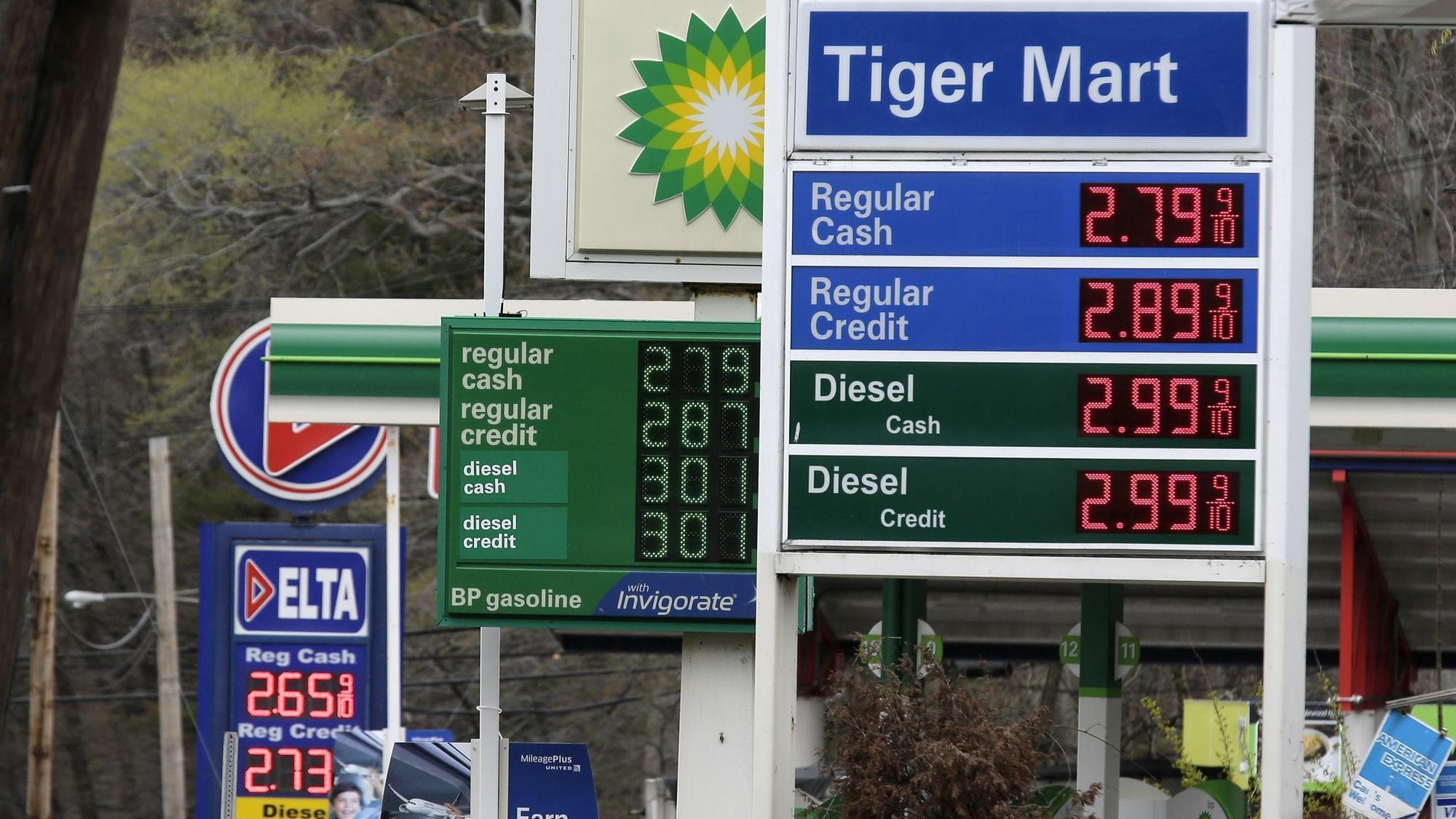 Gas prices could be high enough to derail summer travel plans, survey says