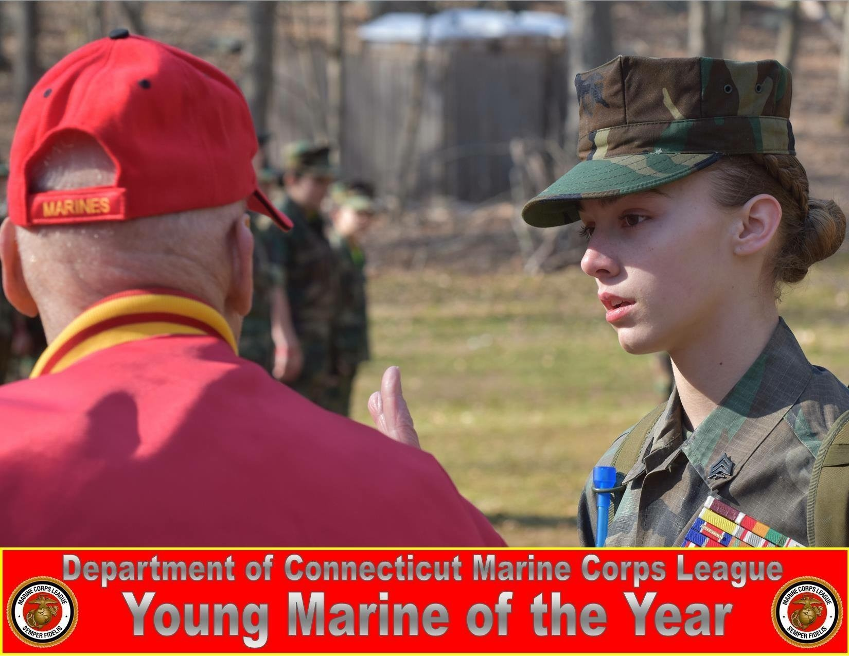 Brass City Young Marine named Marine Corps League Young