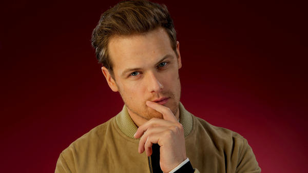 As Jamie Fraser in 'Outlander,' Sam Heughan was destined to live in grief