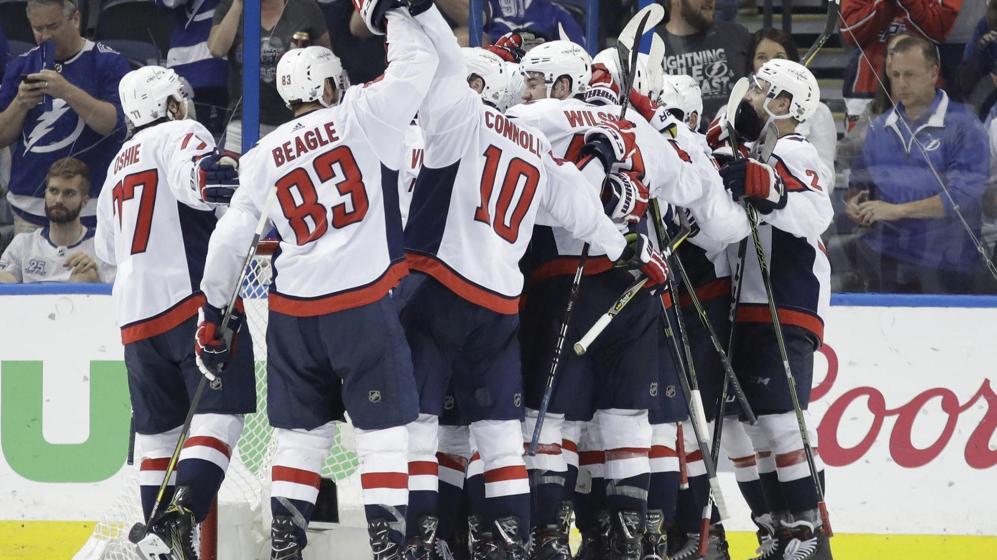 Alex Ovechkin and Braden Holtby shine in Game 7 to help Capitals beat  Lightning 4-0 - Chicago Tribune 4d7c6879a