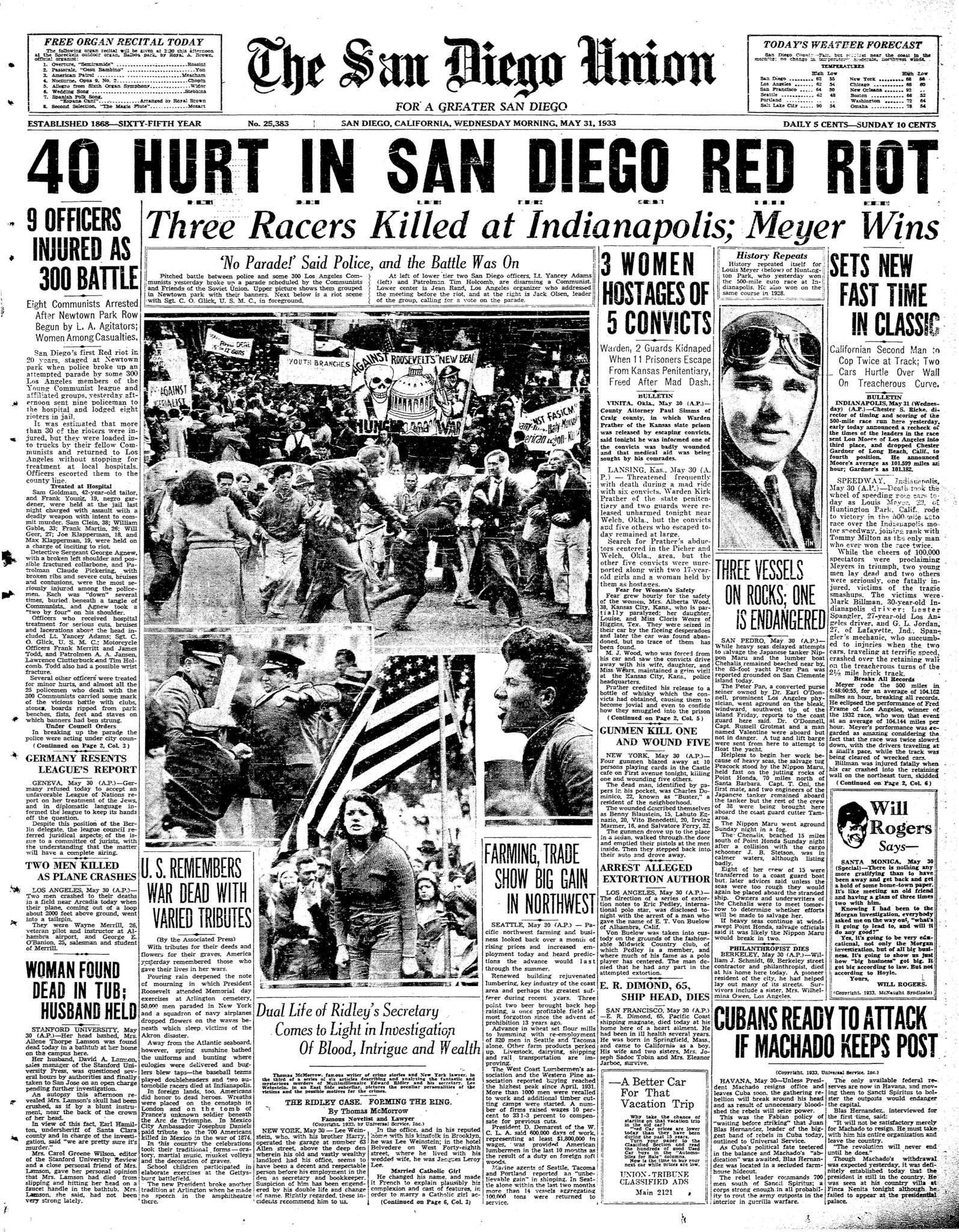 May 31, 1933