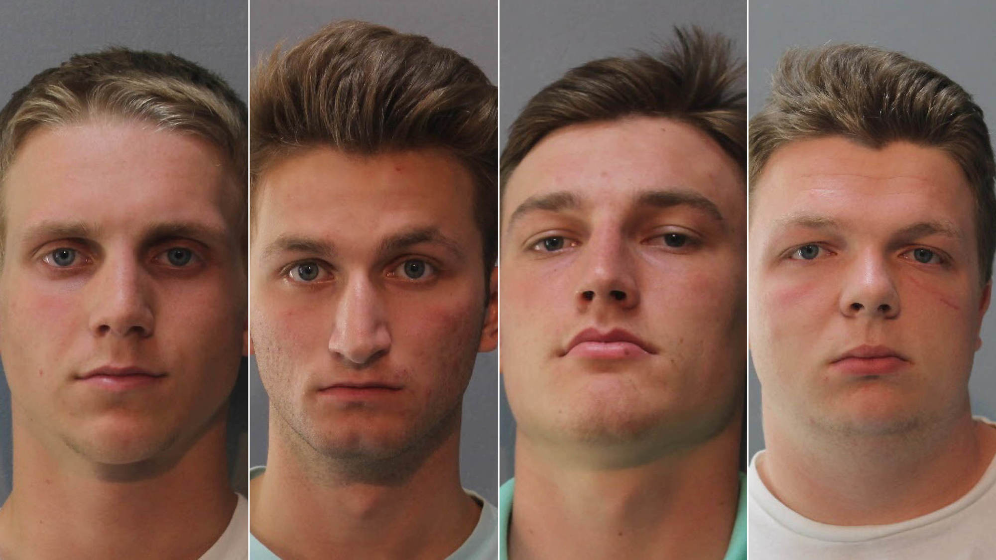 four students charged after swastikas racial graffiti found at