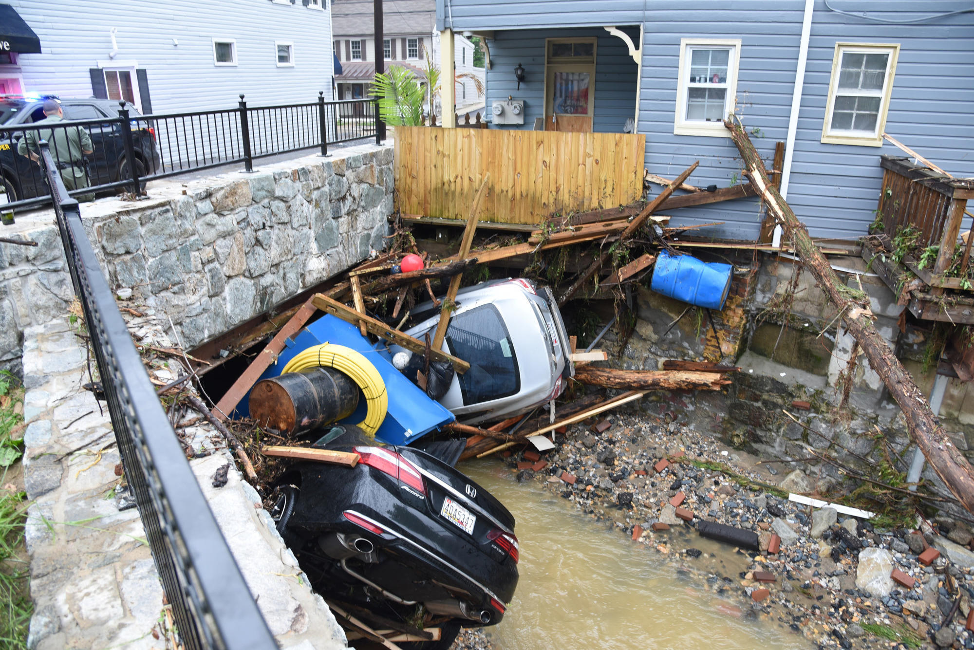 The Day After Ellicott City Flood Locals Reckon With Damage