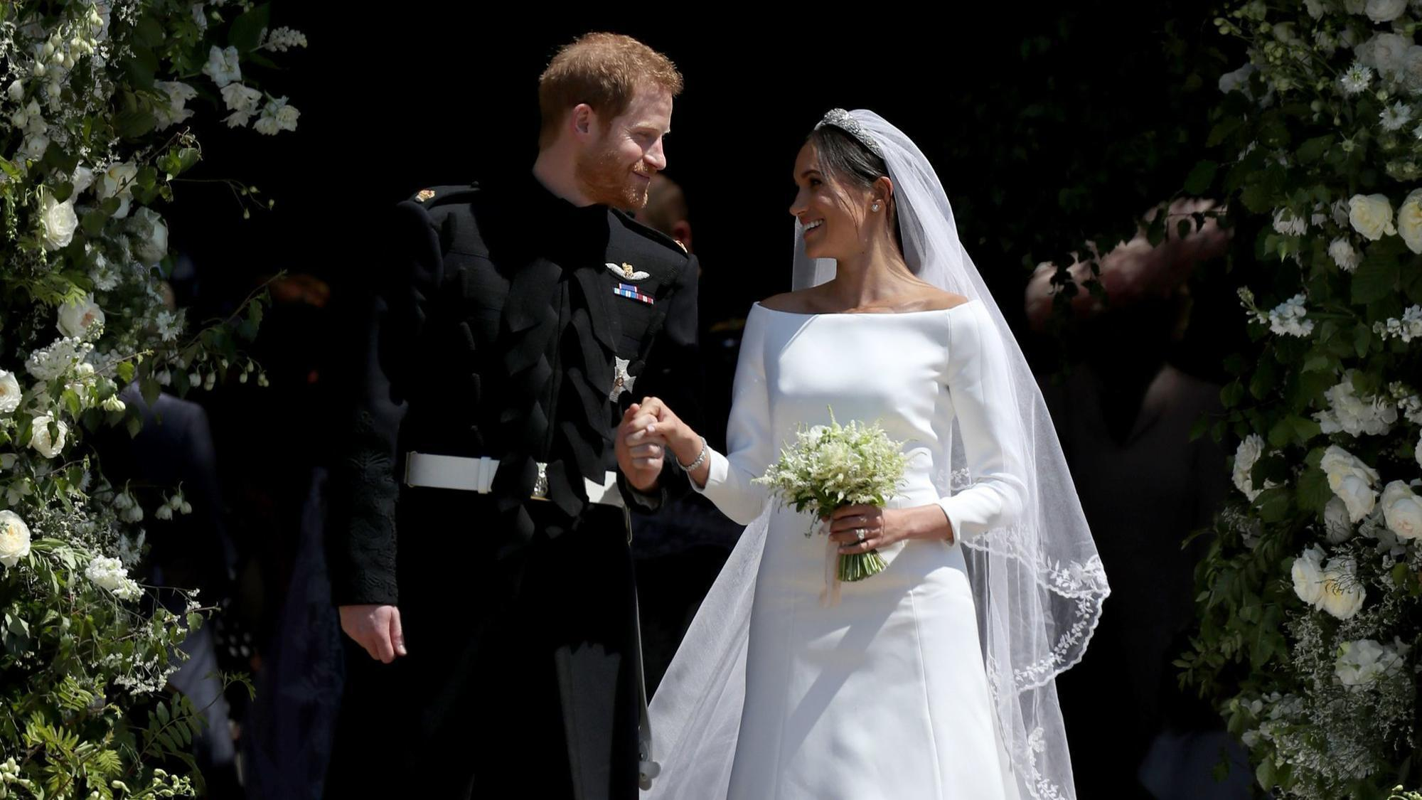 Should A Divorcee Get Married In A White Gown And Veil Just Ask Meghan Markle Chicago Tribune