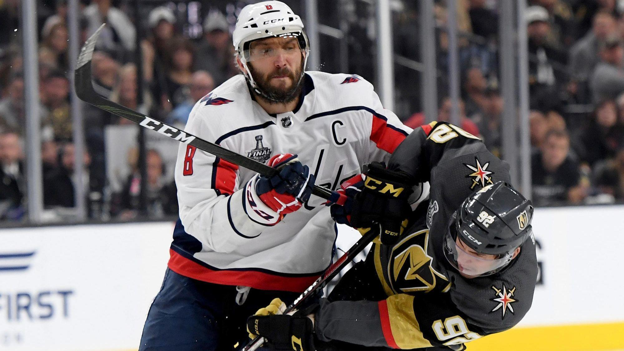 Alex Ovechkin helps Capitals beat Golden Knights 3-2 to even Stanley Cup  Final - Chicago Tribune 30ead0c3d93