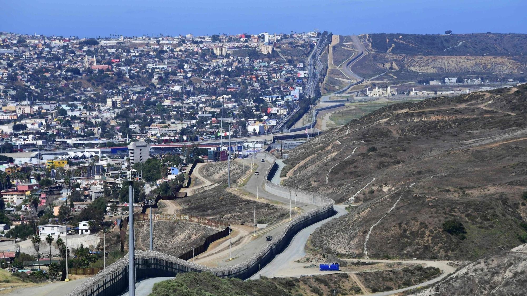 Border Construction Begins In San Diego The San Diego