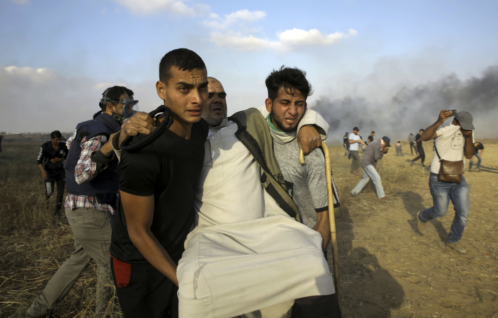 Protests Resume After Funeral For Palestinian Paramedic