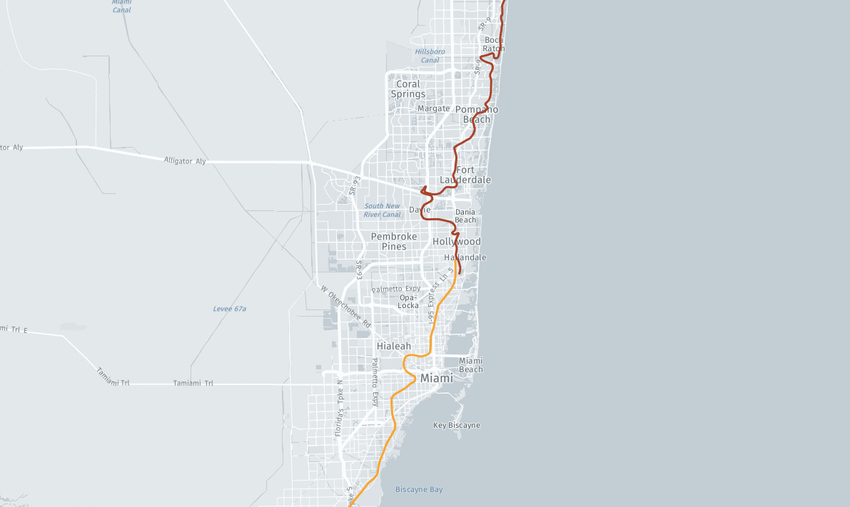 Map Saltwater Intrusion In South Florida Sun Sentinel