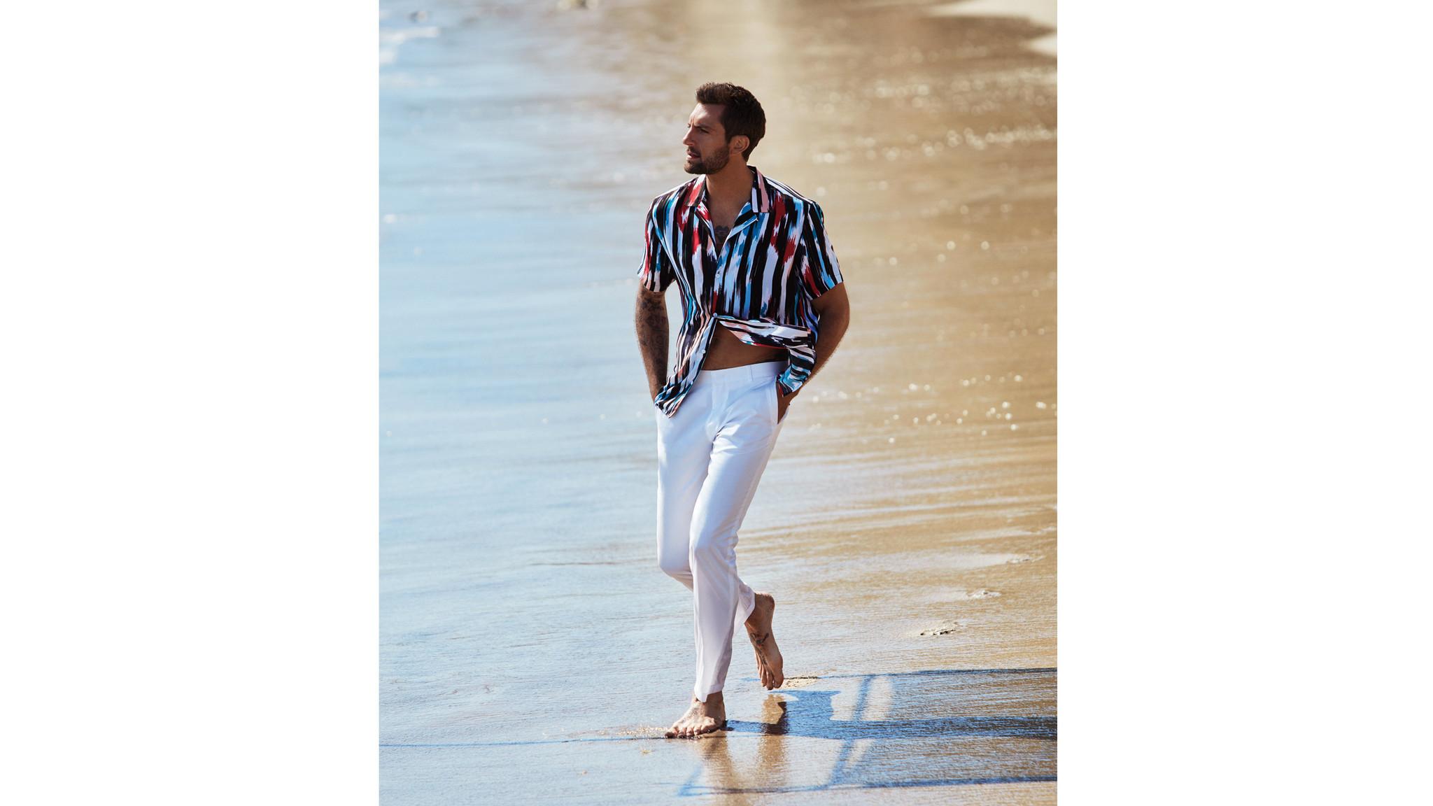 Ikat-print summer shirt from Mr. Turk X INC International Concepts.