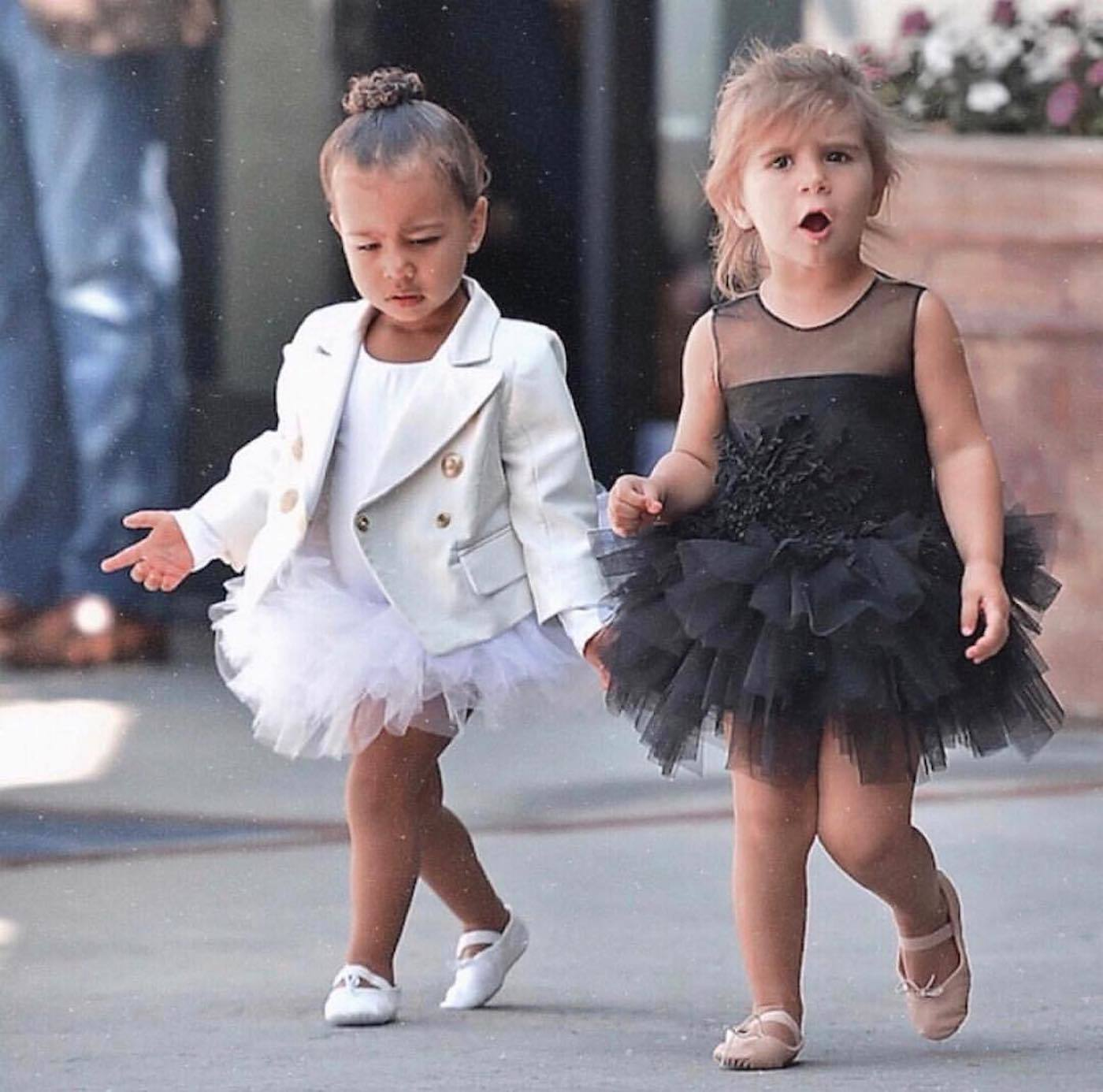 bcceffd58750 BFFS North West and Penelope Disick had a unicorn-trend birthday ...