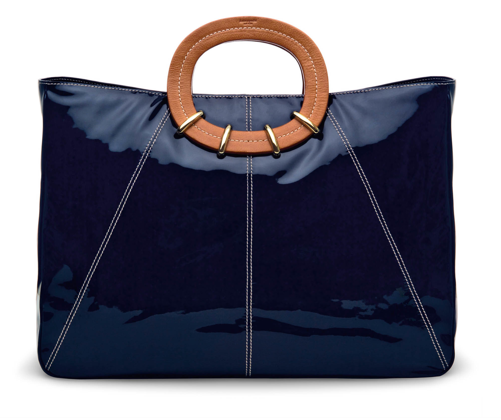 cc8728474 A patent leather from Kate Spade shown in a 2006 photo. Spade said patent  leather can give the pop to an otherwise subdued outfit.