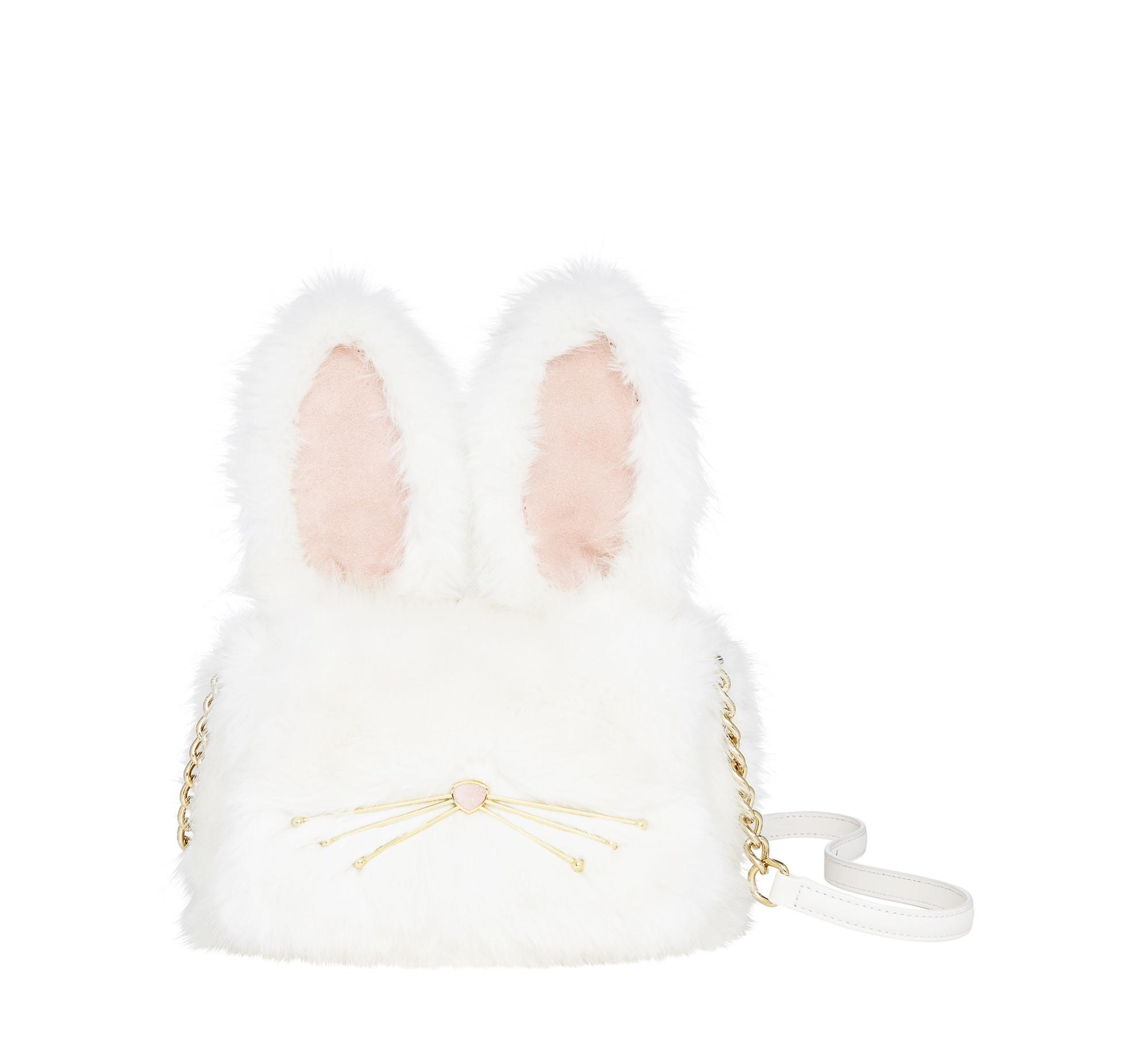 695440263 Kate Spade Make Magic Rabbit Shoulder Bag and Muff, $398 at katespade.com