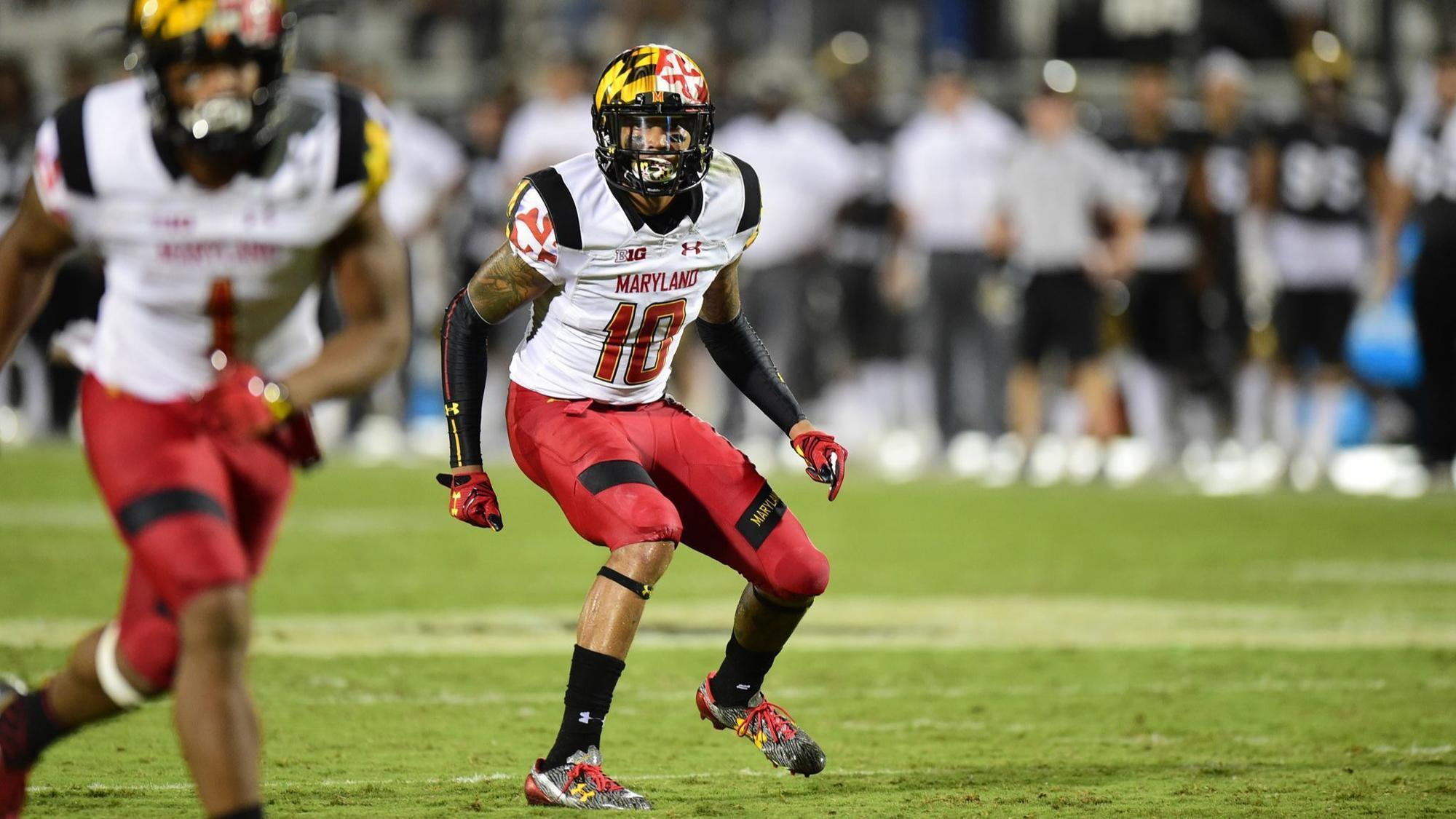 Former Maryland defensive back Josh Woods signs with Chicago Bears