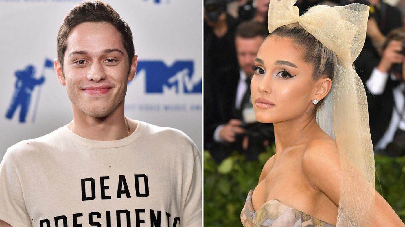 Ariana Grande Is Reportedly Dating Saturday Night Lives Pete Davidson Ariana Grande Is Reportedly Dating Saturday Night Lives Pete Davidson new pics
