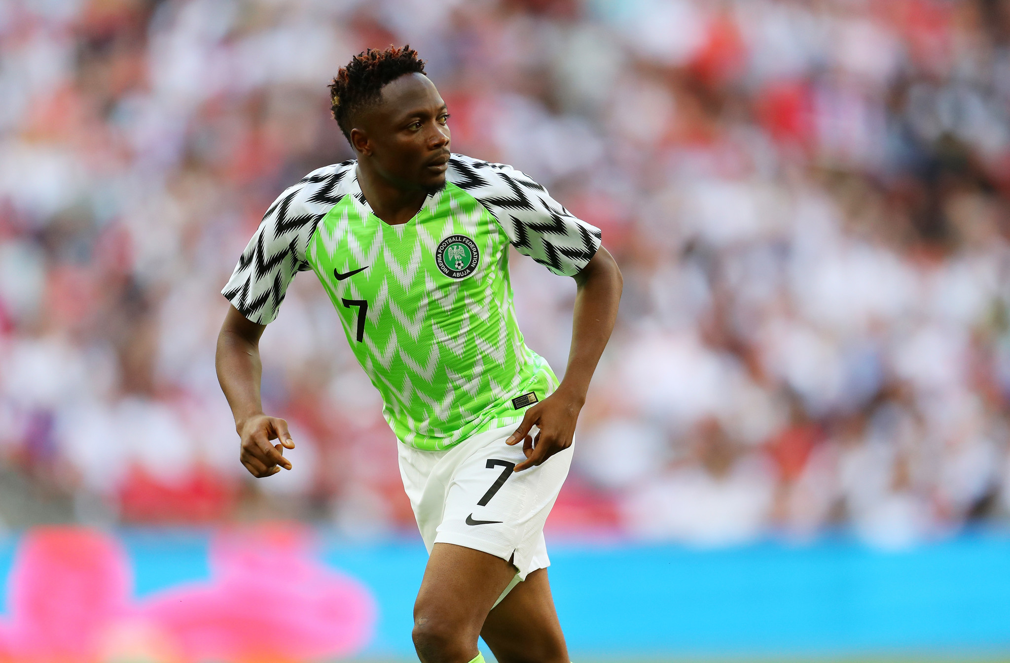 d1e455fe346 Nigeria's bright, trippy uniforms a hit among World Cup uniforms - Chicago  Tribune