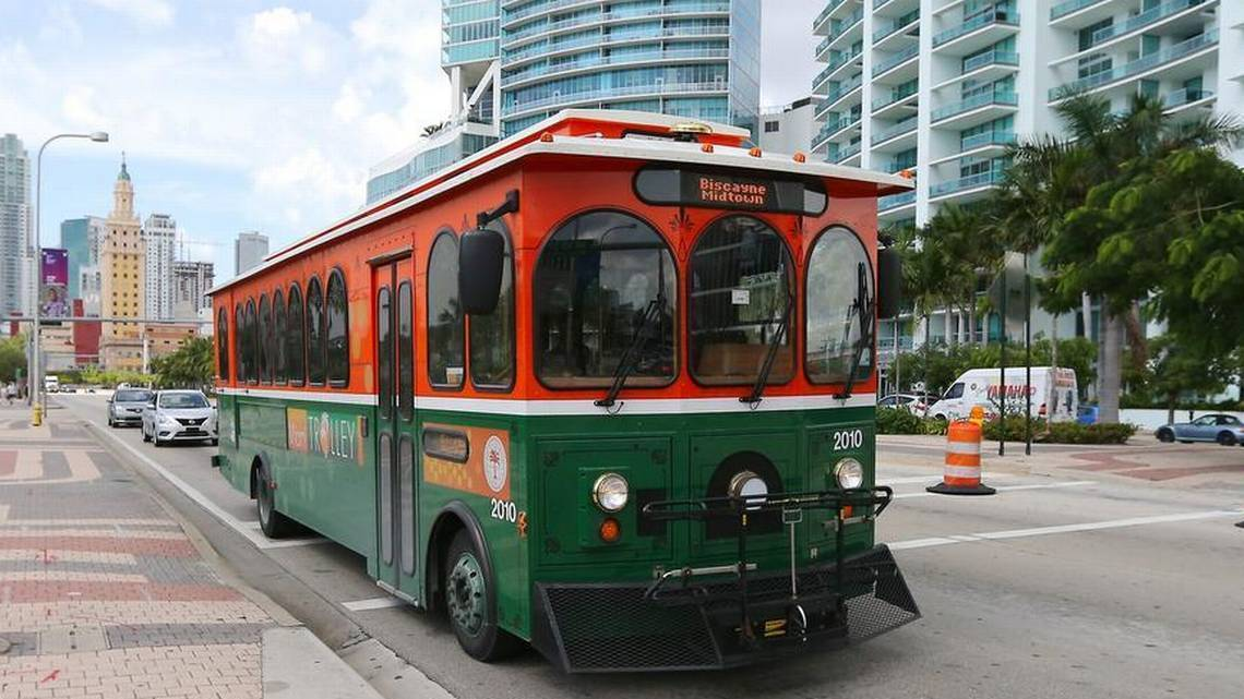 Miami Wants To Expand Trolley Service From Downtown South Beach Sun Sentinel