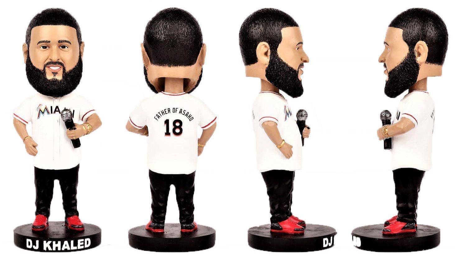 dj giveaway dj khaled bobblehead giveaway coming to marlins park 7183