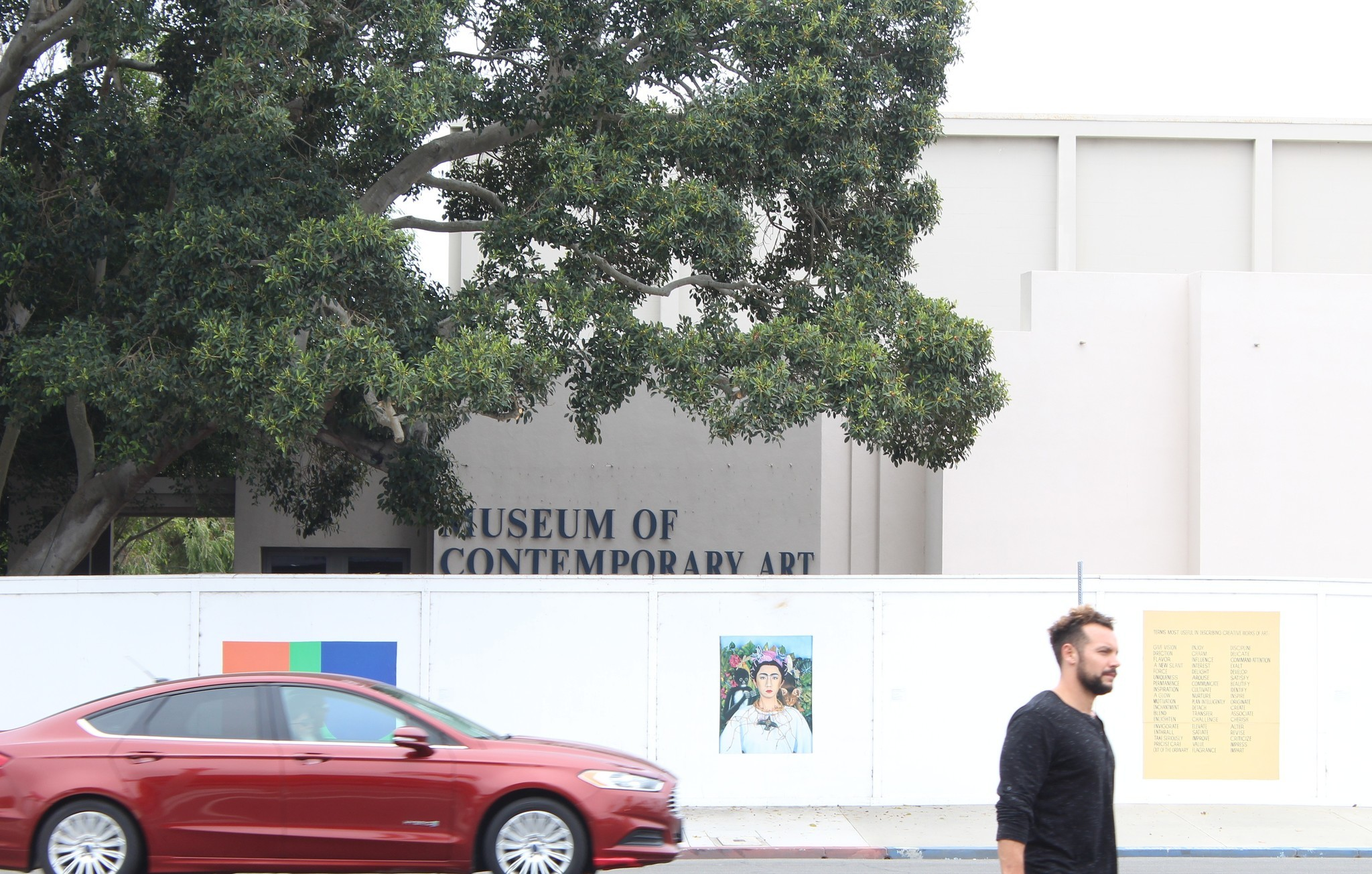The expansion slowly gets underway next door at the Museum of Contemporary Art, San Diego.