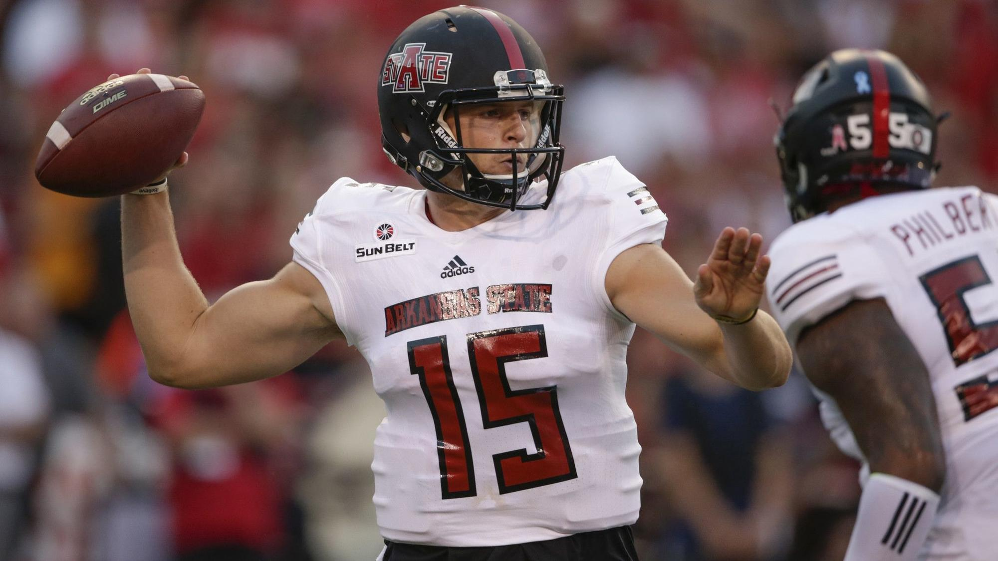 arkansas state is no 64 in 2018 preseason college football rankings